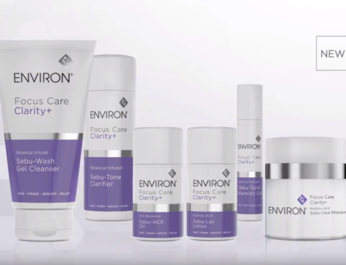 Environ's Focus Care Clarity+ 3-phase system range available at SkinGym